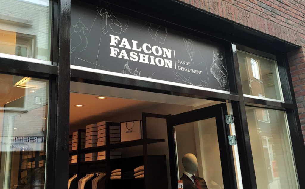Falcon Fashion gevel woerden